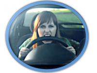 rabbia al volante